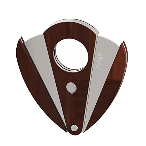 Taglia sigari professionale acciaio inossidabile e legno doppia anta ghigliottina a forma di farfalla tagliasigari taglia sigaro toscani cubano