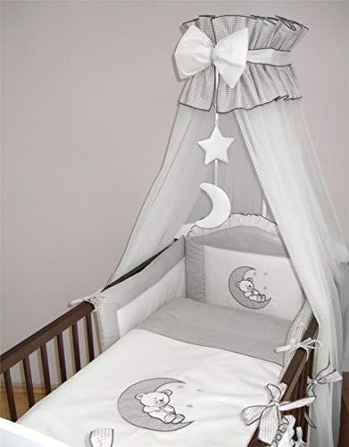 3 Pièce Ensemble De Literie avec épais Anti-Chocs pour 140x70 cm pour lit bébé-Motif 6