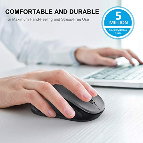 WisFox 2.4G Wireless Mouse for Laptop