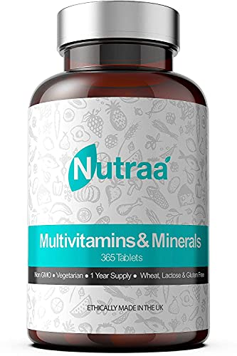 Multivitamin Tablets (365 Day Supply) Advanced Mineral Formula for Men &...