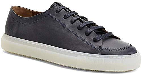Fratelli Rossetti Sneakers in Pelle Blu con Cuciture (11.5)
