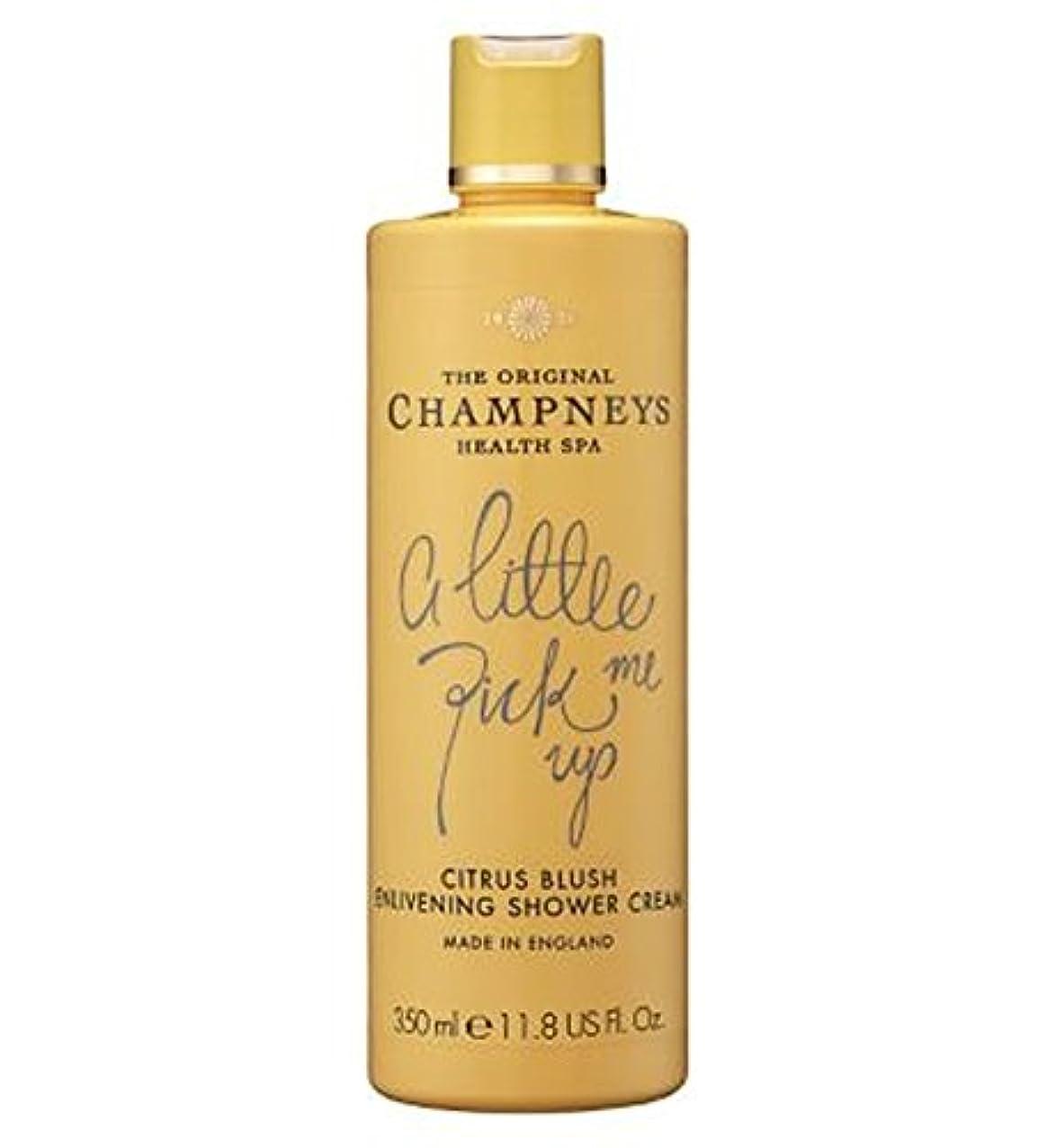 入射伝導率器用チャンプニーズシトラス赤面盛り上げシャワークリーム350ミリリットル (Champneys) (x2) - Champneys Citrus Blush Enlivening Shower Cream 350ml (Pack of 2) [並行輸入品]