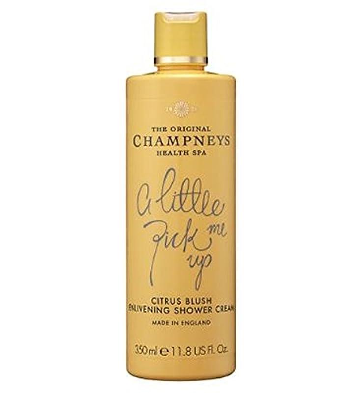 横に盲信見かけ上Champneys Citrus Blush Enlivening Shower Cream 350ml - チャンプニーズシトラス赤面盛り上げシャワークリーム350ミリリットル (Champneys) [並行輸入品]