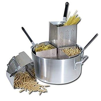 Winware 20 Qt Aluminum Pasta Cooker Commercial Grade