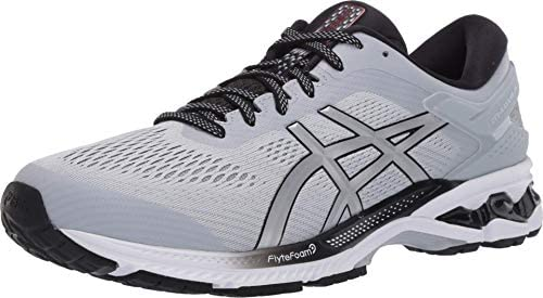 ASICS Men s Gel Kayano 26 Running Shoes 12M Piedmont Grey Pure Silver product image