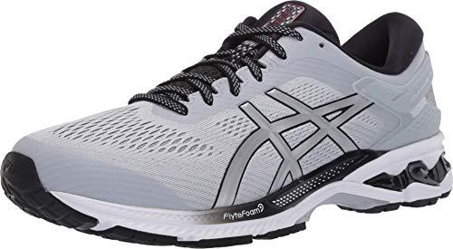 ASICS Men's Gel-Kayano 26 Running Shoes, 10, Piedmont Grey/Pure Silver