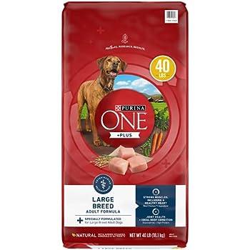 Purina ONE Large Breed Dog Food Natural Formula SmartBlend - 40 lb Bag
