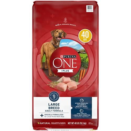 Purina ONE Large Breed Dog Food Natural Formula, SmartBlend - 40 lb. Bag