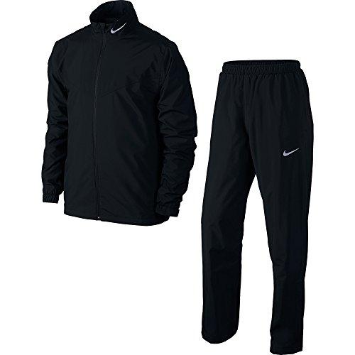 Nike Storm - Ensemble Veste et Pantalon de Pluie - Homme (XL) (Noir)