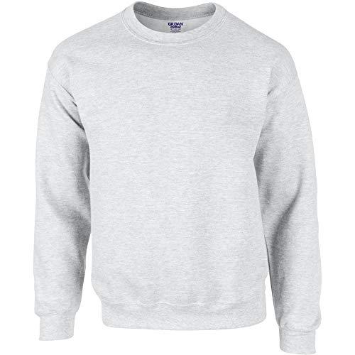 GILDAN Suéter DryBlend, de cuello redondo, hombre, gris, extra-large