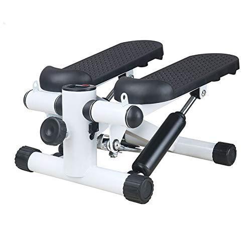 BLKykll Mini stapsgewijze stappenteller voor fitness, gezond, hydraulische geluiddemper, stapsgewijze stappen, multifunctioneel pedaal voor gebruik binnenshuis, sport, stapsgewijze