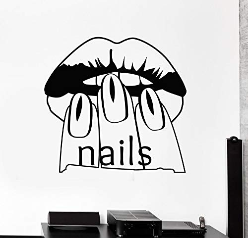 Tianpengyuanshuai Nagelstudio wandsticker wanddecoratie raamsticker waterdicht nagel zelfklevend behangsticker in nagelstudio