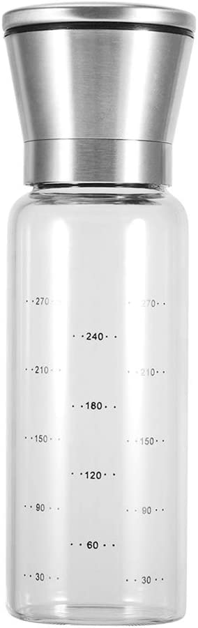 PAMISO Brand new Salt and Pepper Grinder Stainless Arlington Mall Steel wit