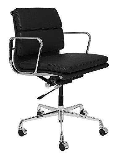 SOHO Premier Soft Pad Management Chair (Soft Pad, Black)