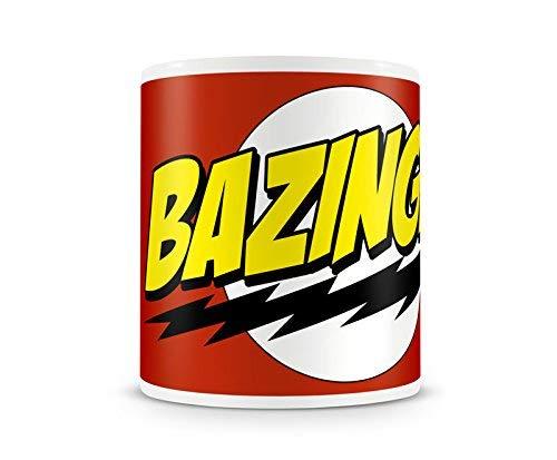 Offiziell lizenzierte Bazinga Super Logo Kaffeetasse