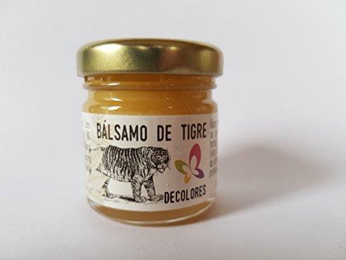 Decolores Balsamo de Tigre Ungüento Calmante 30 grs natural para tu Ecobotiquin