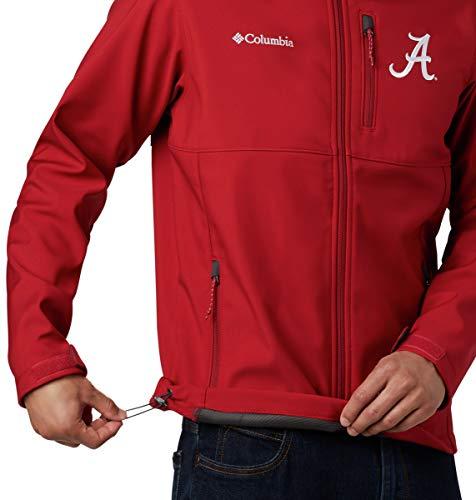 Columbia NCAA mens Collegiate Ascender Softshell Jacket