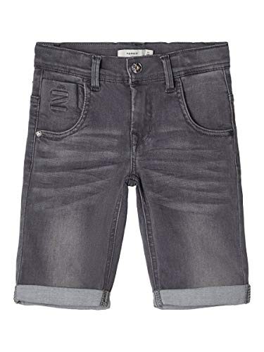 NAME IT Boy Jeansshorts X-Slim Fit Super Stretch 140Medium Grey Denim