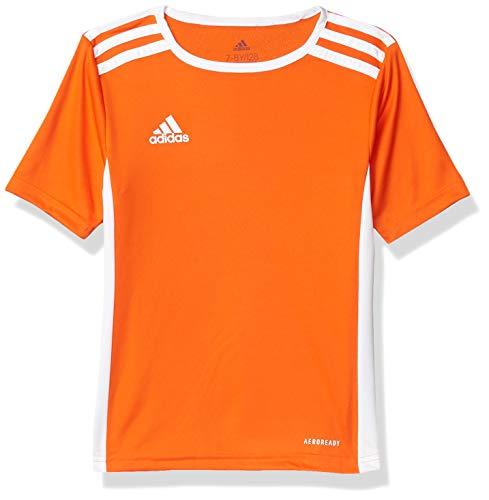 adidas?¨C?Maglietta da Calcio Entrada 18?Jersey, Arancione/Bianco, Taglia: XXL