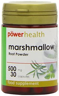 Power Health Marshmallow Root Powder 500mg - Pack of 30 Capsules