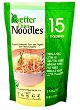 Better Than Noodles. Certified Organic. Vegan, Gluten-Free, Non-GMO, Konjac Noodles 14 Ounces (6 Pack) …