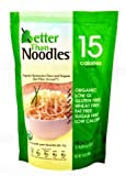 Better Than Noodles. Certified Organic. Vegan, Gluten-Free, Non-GMO, Konjac Noodles 14 Ounces (6 Pack) …