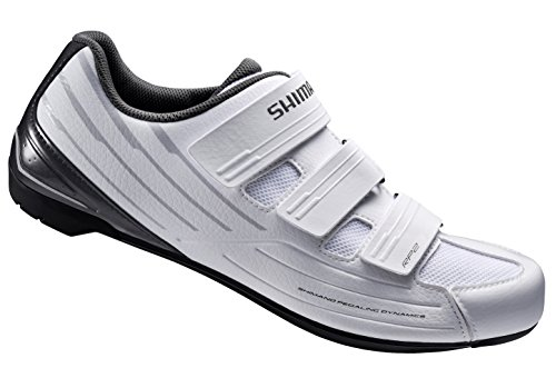 Shimano RP2W SPD-SL Women's Shoes, Black, Size 43 EUR, 10.4...