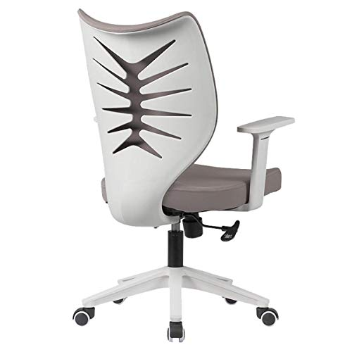 Desk Chair Executive Computer Office Chair, Ergonomic Adjustable and Swivel Fabric Mesh Chair with Comfortable Lumbar Support (Color : B)