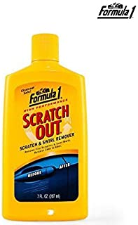 Laxon - Formula 1 Scratch Out Remover Heavy Duty Liquid For All Car (207 Ml)