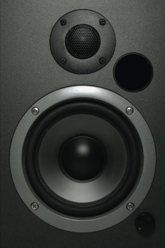 Sound System Speakers Notebook: 150 page Notebook Journal Diary: Volume 48 (Music 150) [Idioma Inglés]