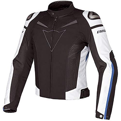 Chaqueta Moto Impermeable Acolchada Espalda y Codo Motocicleta Armadura de Equipo de Protección Ropa de Carreras Impermeable Anti-caída Protección CE Reflexivo A,XXL