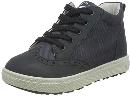 PRIMIGI PBZ 63605 First Walker Shoe, BLU Scuro/BLU, 28 EU