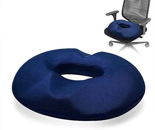 Caeor Orthopädisches Komfort Therapie Donut-Sitzkissen – Stuhlkissen Sitzring zur Schmerzlinderung bei Hämorrhoiden, Prostata- und Schwangerschaftsschmerzen, Operationen und Druckgeschwüren