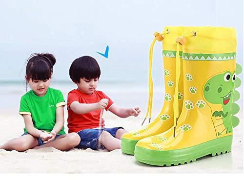 HRFHLHY cartoon-patroon deodorant regenlaarzen kinder-regenlaarzen waterschoenen rubberlaarzen