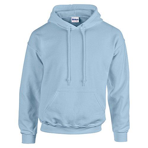 Gildan HeavyBlend, hooded sweatshirt S,Light Blue