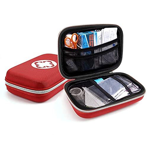 DaMohony Erste-Hilfe-Set aus Nylon, kompakte und leichte Erste-Hilfe-Tasche für den Notfall zu Hause, im Büro, im Auto, im Freien, Boot, Camping, Wandern