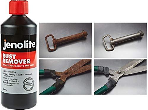 JENOLITE Original Rust Remover Liquid - Rust Treatment - Removes Rust Back To Bare Metal - 500g