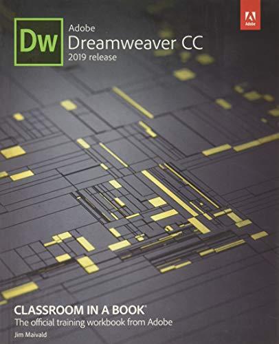 Adobe Dreamweaver CC Classroom in a Book 2019