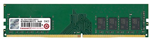 Transcend TS1GLH64V4B 8GB DDR4 2400Mhz U-DIMM 1Rx8 1.2V 1GB DDR2 800MHz geheugenmodule