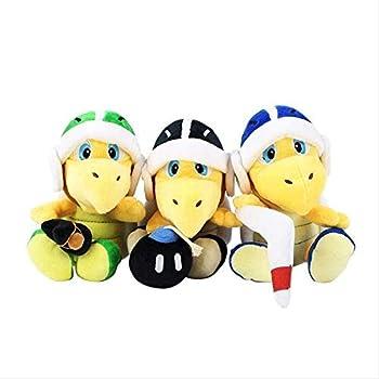 NC56 Super Mario Bros Plush Koopa Troopa Hammer Boomerang Stuffed Plush Toys Doll Kids Gifts 3 Pcs 18 cm