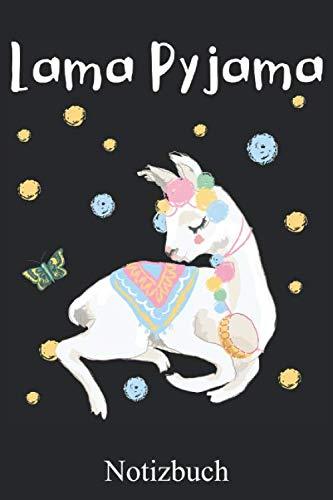 Lama Pyjama: Lustiges Lama Notizbuch, Notizheft, Schreibheft, Tagebuch (Taschenbuch ca. DIN A 5 Format Liniert) von JOHN ROMEO: Alpaka Notizheft mit ... Frauen, Männer und Kinder – Von JOHN ROMEO