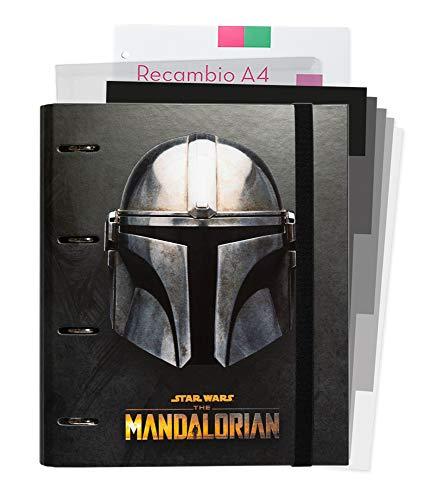 ERIK - Carpeblock 4 anillas The Mandalorian, A4 (26x32 cm)