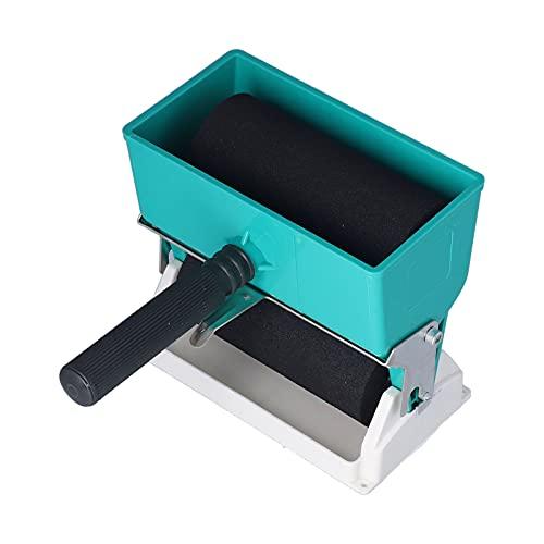 Rullo adesivo portatile fai-da-te, applicatore di colla portatile regolabile 150 mm di larghezza distribuito uniformemente manuale per legno per rivestimento fai-da-te per falegname
