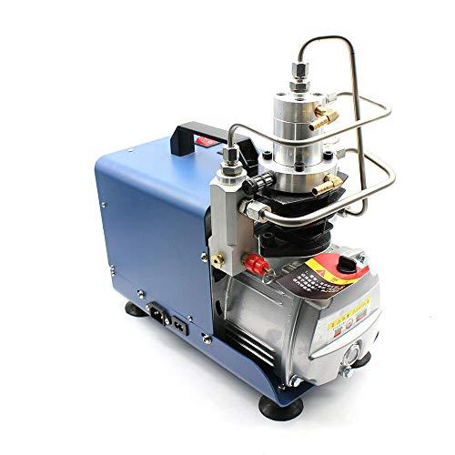 Compresor de aire eléctrico, 1800 W, 4500 psi, alta presión, profesional, bomba de aire de alta presión, para PCP, 30 MPA, 300 bar