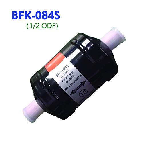 LUOAN AUTO PARTS BFK-084S Tipo BFK Refrigerador Aire Acondicionado Filtro secador 1/2 conexión ODF para refrigerante HCFC/HFC