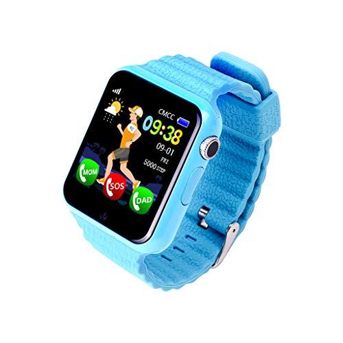 Posizione smartwatch stand-alone card call 1.54 inch touch screen impermeabile Blu.