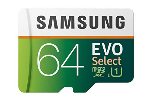 Samsung EVO Select 128GB microSDXC UHS-I U3 100MB/s Full HD & 4K UHD Memory Card with Adapter (MB-ME128HA) (Renewed)
