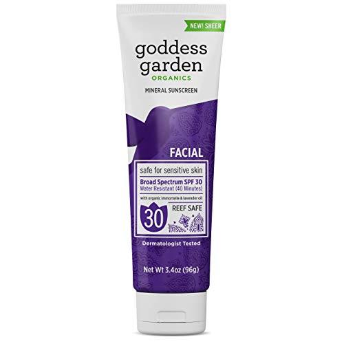 Goddess Garden Facial Sunscreen Spf 30 3.4 Oz by Goddess Garden