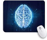 KAPANOUマウスパッド 技術の背景に人間の脳のレンダリング ゲーミング オフィス最適 高級感 おしゃれ 防水 耐久性が良い 滑り止めゴム底 ゲーミングなど適用 マウス 用ノートブックコンピュータマウスマット