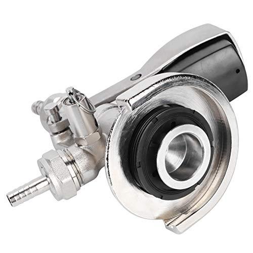 Accoppiatore KEG, largo 17 x 14 cm 304 in acciaio inox materiale in acciaio inox (argento)